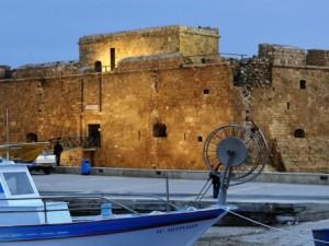 Средневековый замок Пафоса