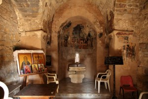 The Church of St. Constantine. Throne