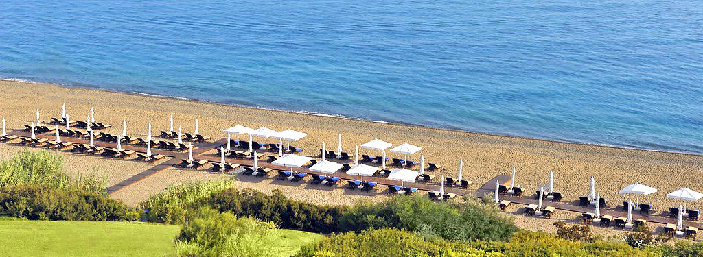 Пляж отеля Anassa
