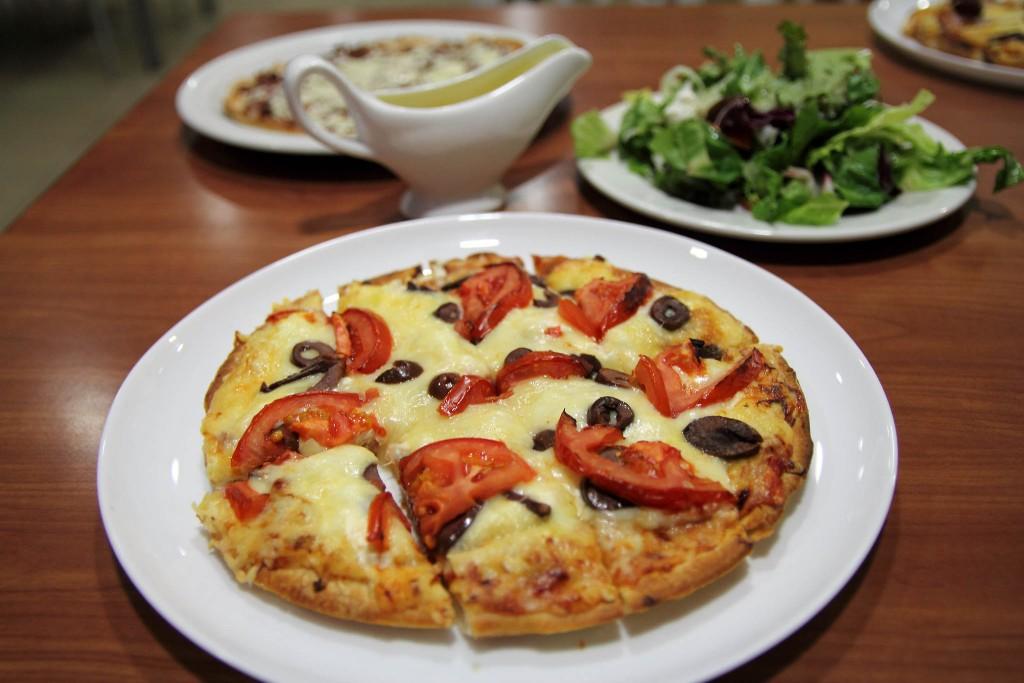 Jack's pizza. Miterranian pizza