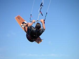 Kite surfing in Cyprus