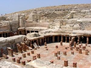 Остатки древней дренажной системы