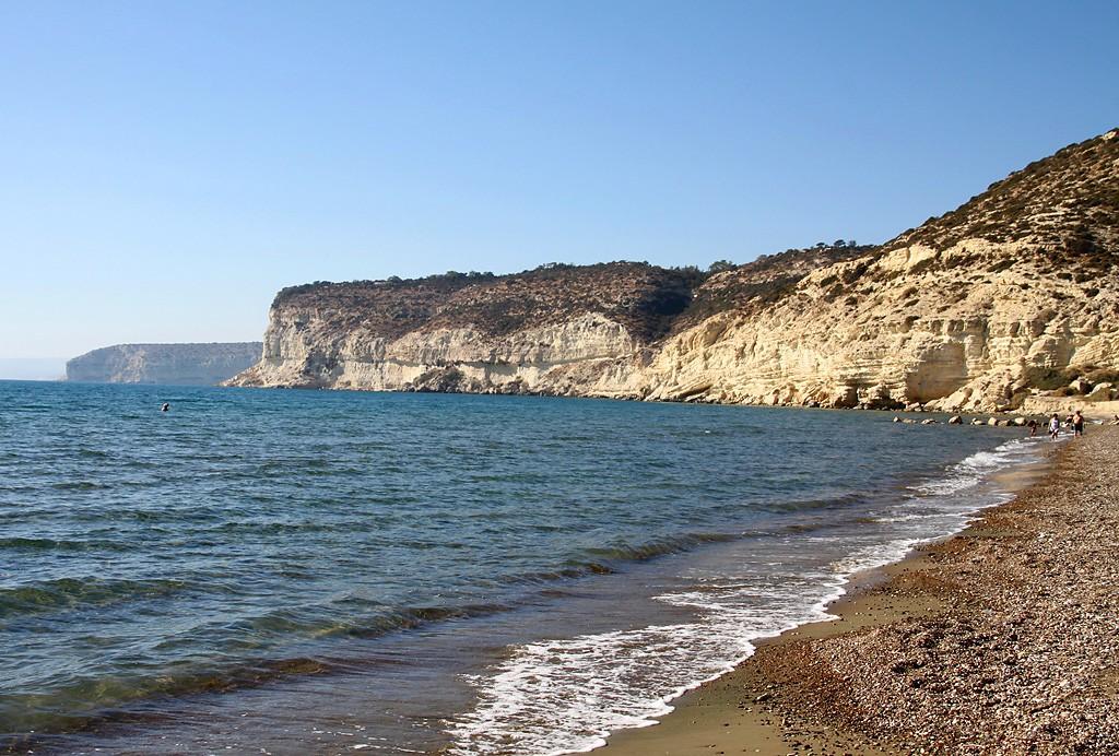 Пляж Курион