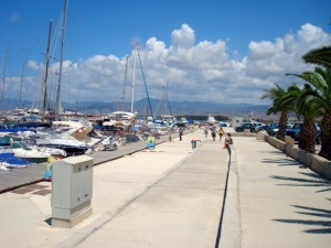 The famous port of Latchi