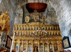The iconostasis of the Cathedral of St. Lazarus