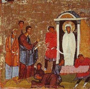Icon of St. Lazarus