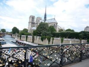 Love Bridge in Paris