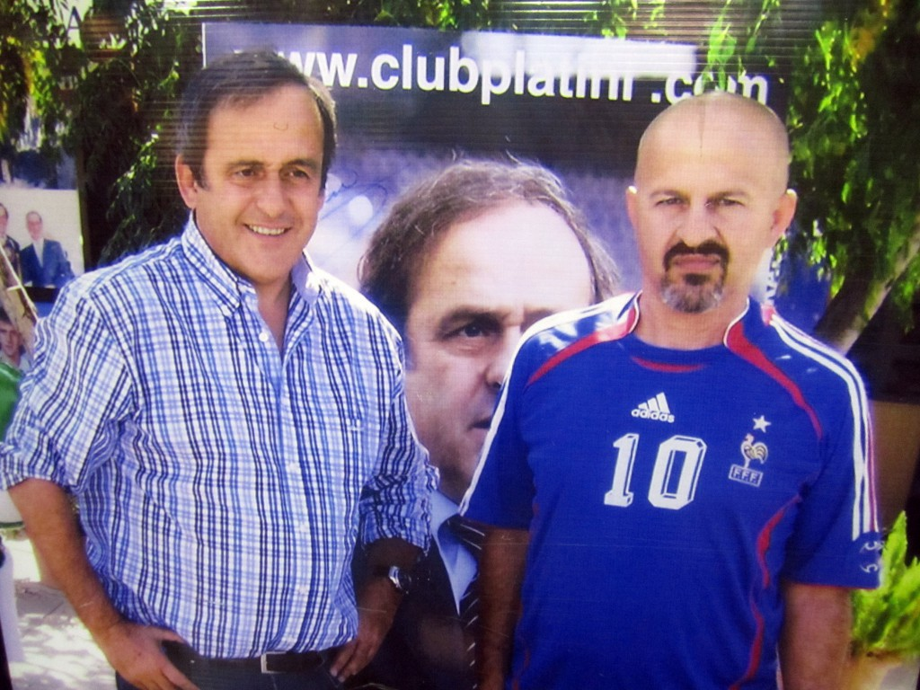 Мишель Платини и Филиппос Ставру