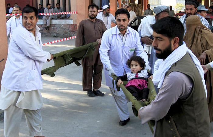 Землетрясение в Афганистане