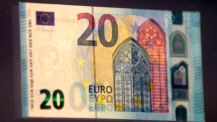 Банкнота в 20 евро