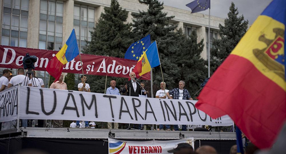 Атака резиденции молдавского президента