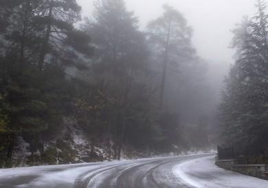 Зима на Кипре