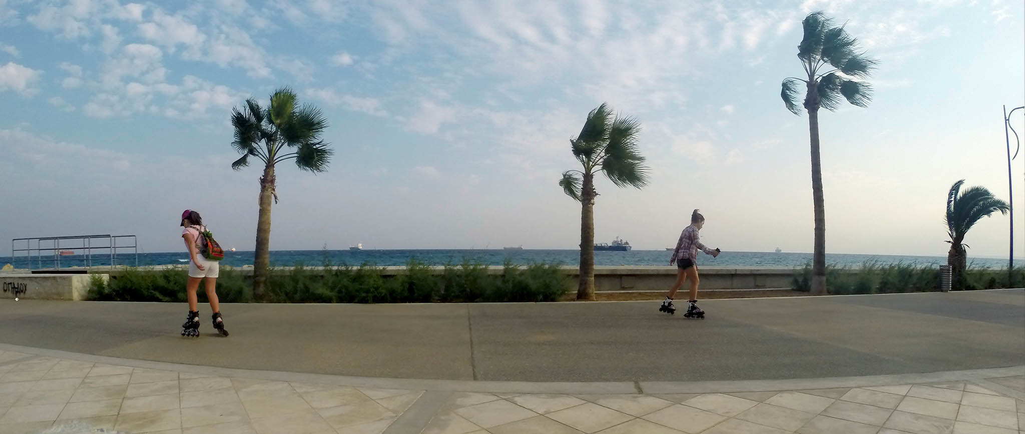 Кипр встречает зиму
