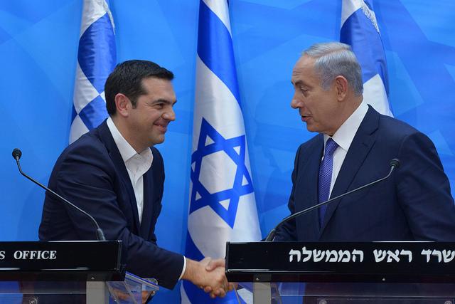 Премьер-министры Греции и Израиля