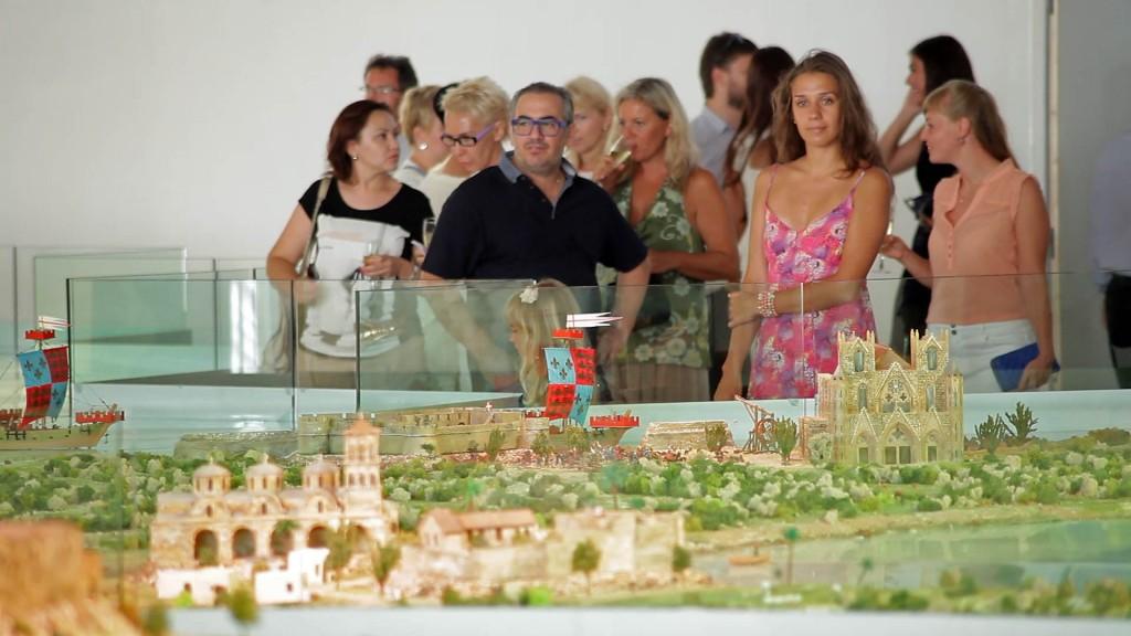 Центральная выставочная экспозиция истории Кипра