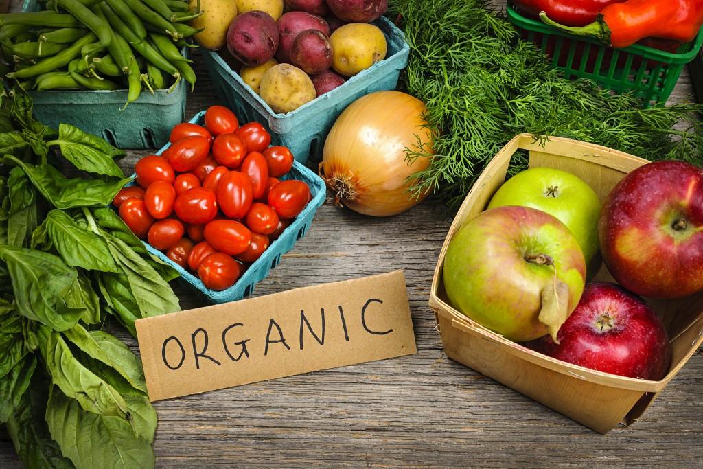 Органически выращенные продукты