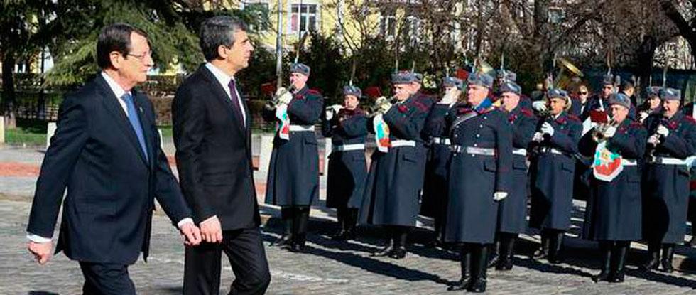 Никос Анастасиадис в Болгарии