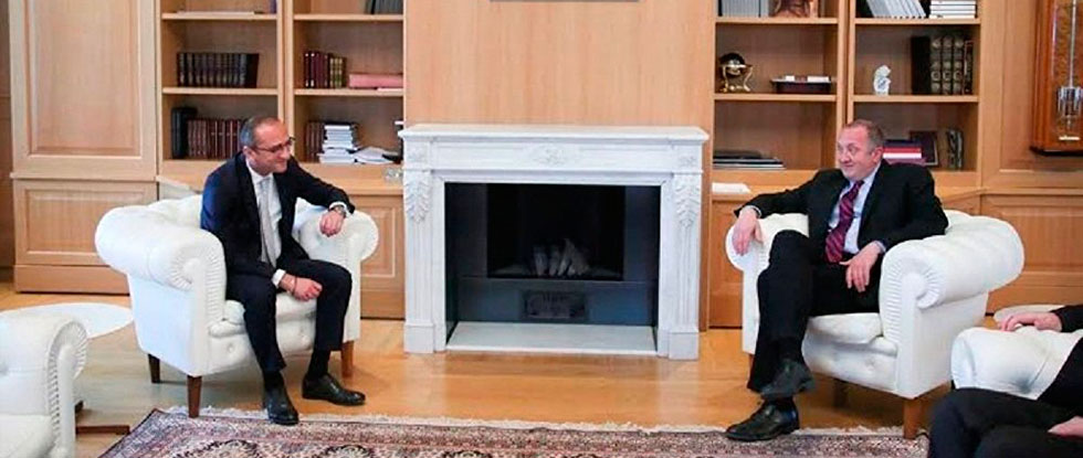 Георгий Маргвелашвили и Реваз Ломинадзе