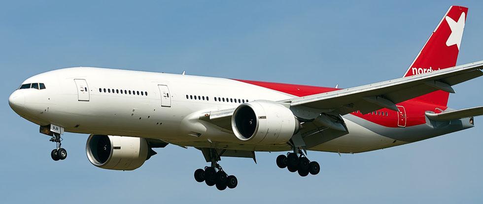 Боинг авиакомпании «Северный ветер»
