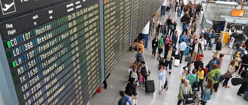 Аэропорт в Германии