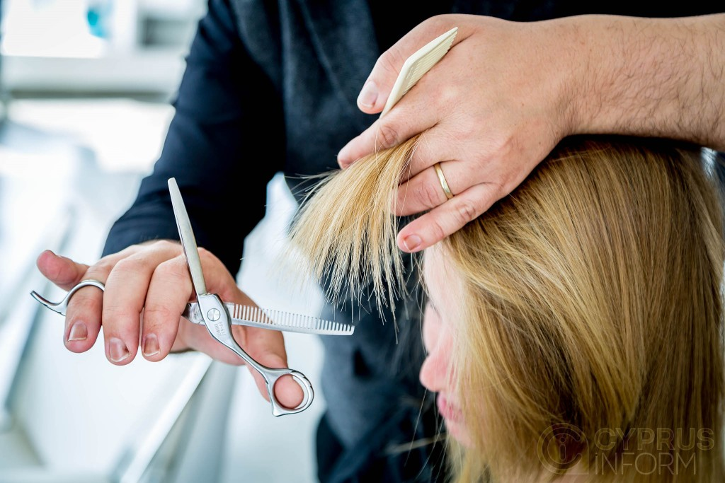 Alejandro Sanso hairdressing