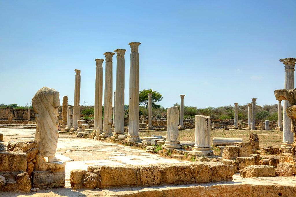 Salamis ancient Roman site