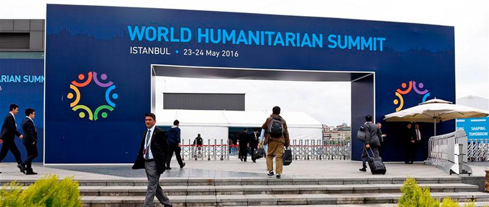 Всемирный гуманитарный саммит в Турции