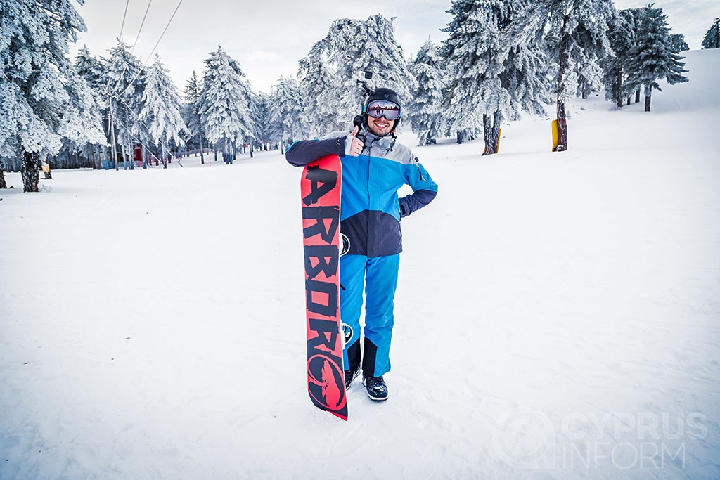 Troodos snowboard