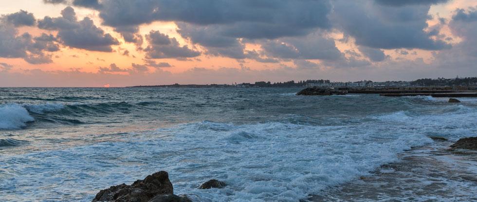 Непогода на Кипре