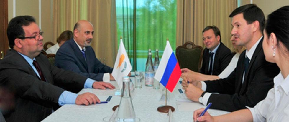 Встреча министра Ростовской области и посла Кипра