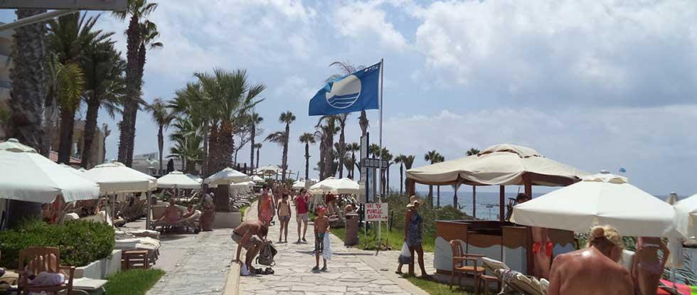 Пляж в Като Пафосе