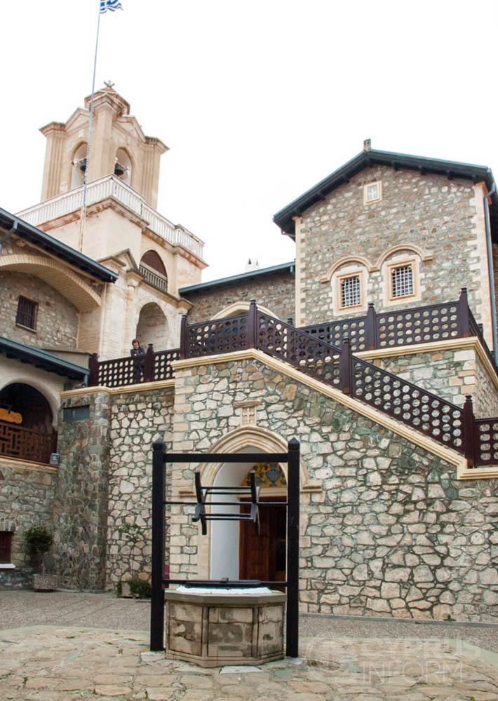 Архитектура Киккского монастыря