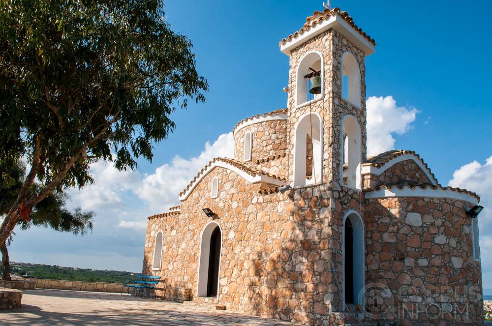 Prophet Elias Church in Protaras