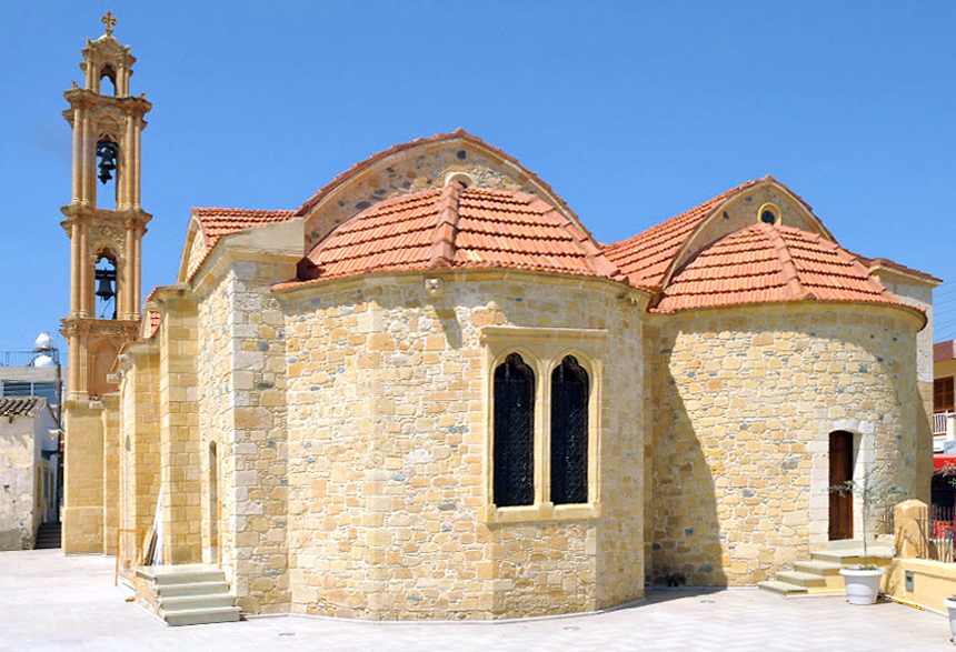 Church of Saints Cyprian and Justina in Cyprus