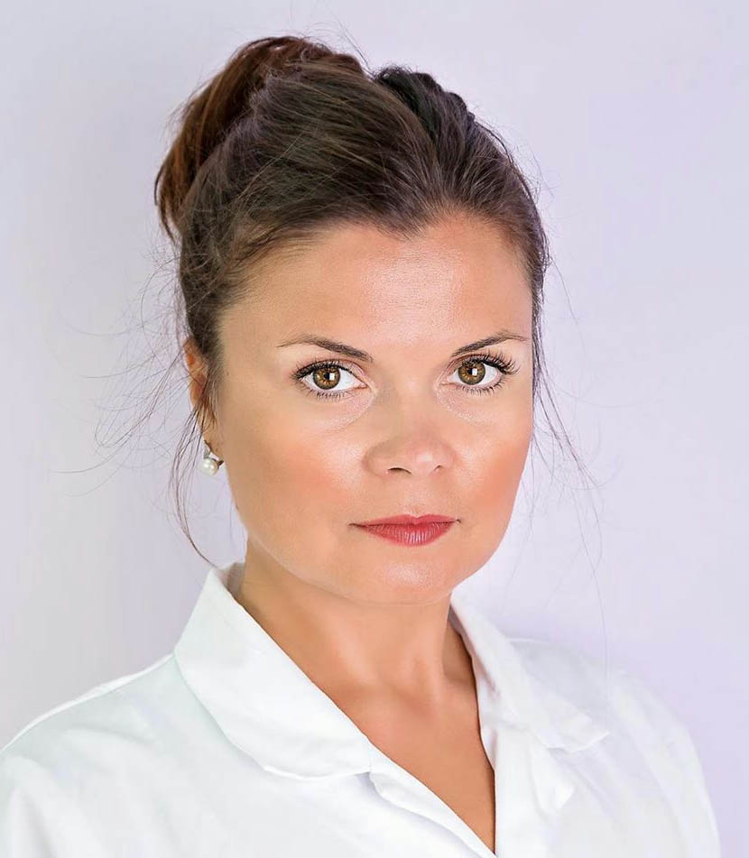 Olga Denissova, beauticians and distributor Ericson Laboratoire in Cyprys