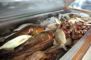 Рыбная таверна Potamos - рыба