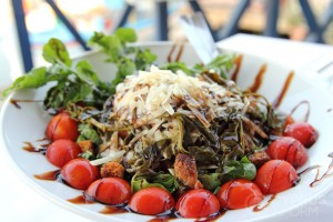 Рыбная таверна Potamos - греческий салат