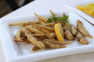 Рыбная таверна Potamos - рыбка