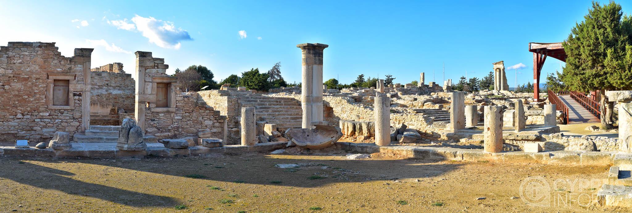 Temple Of Apollo Hylates  Online Journal Cyprus Inform
