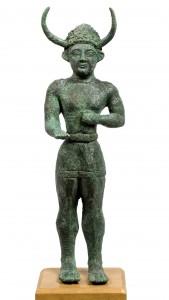 Cyprus Museum - рогатый бог