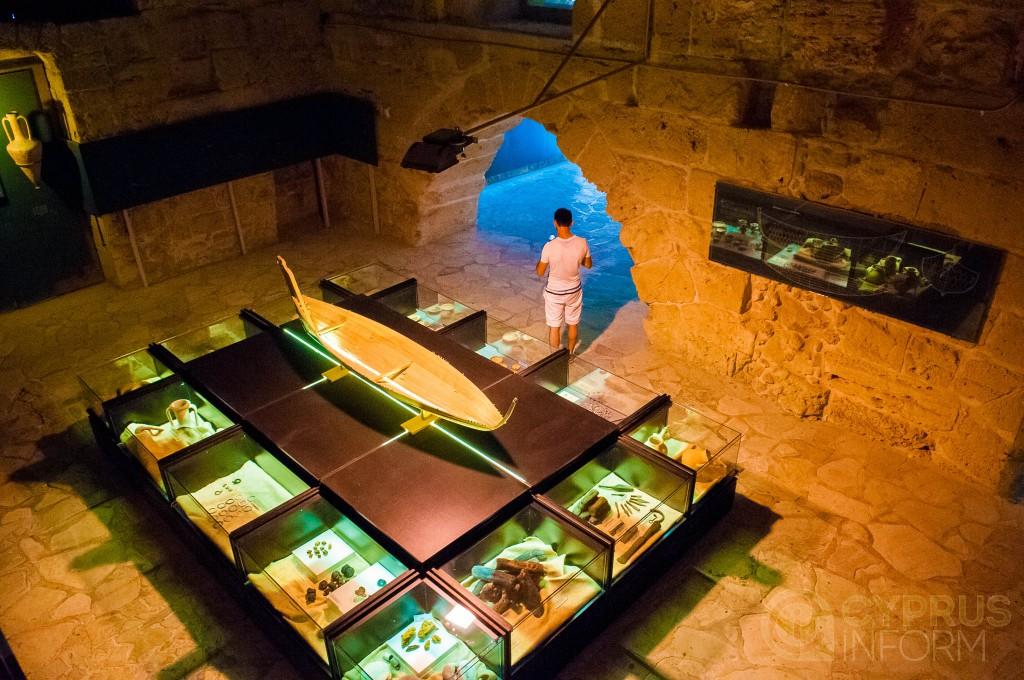 Музей кораблекрушения в киренийском замке