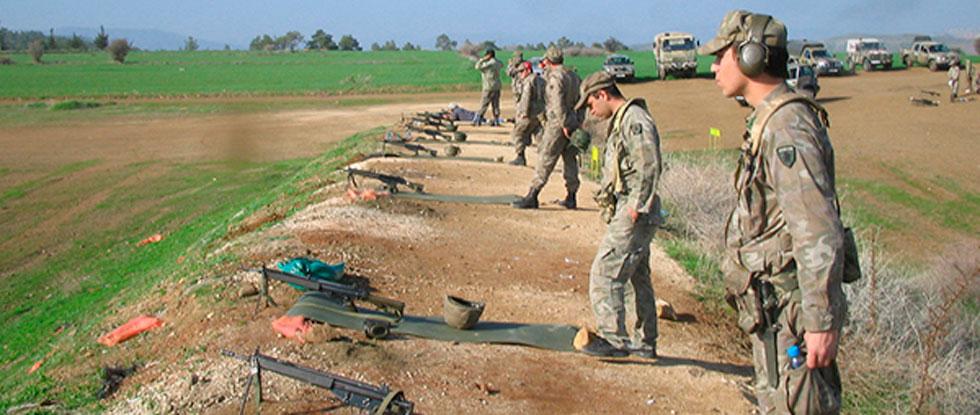 Военные учения Кипра и Австрии
