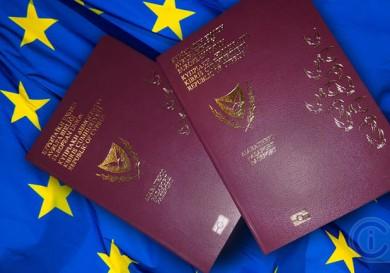 EU flag - Cyprus passports