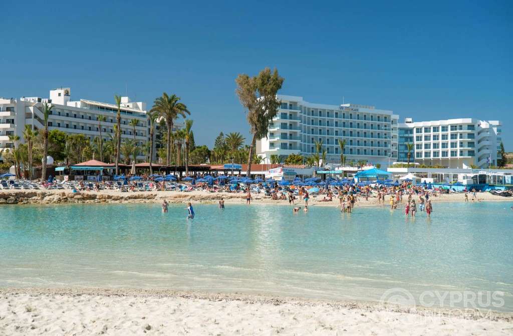 Пляж Nissi Beach