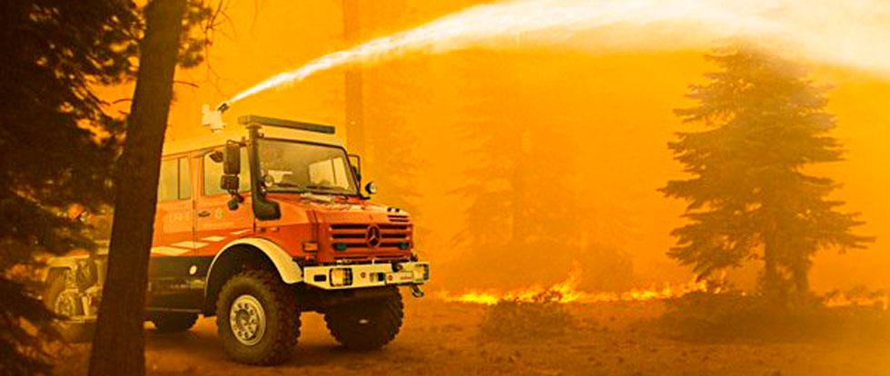 Пожар в Лимассоле