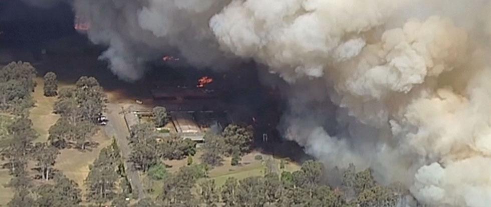 Пожар в Израиле
