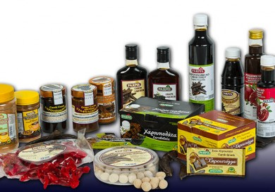 Parpis carob products