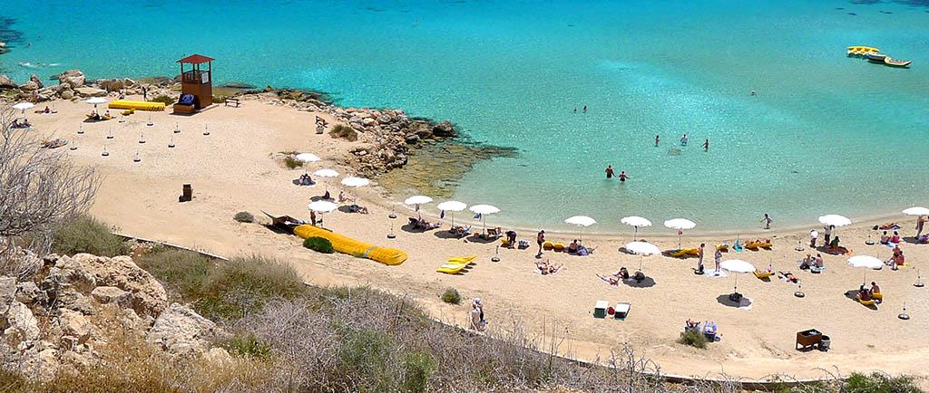White Beach Cyprus