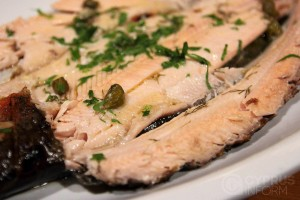 Troodos Hotel - Grilled trout