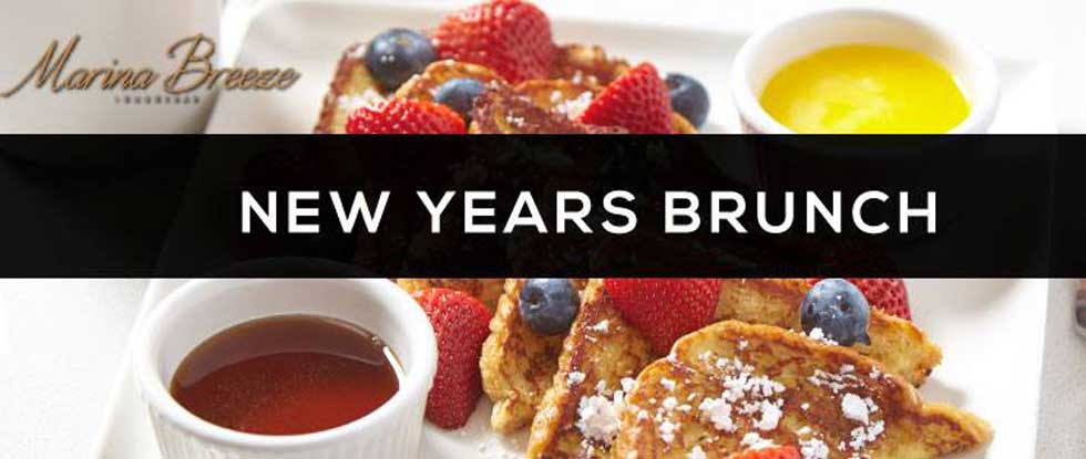 Brunch In A Breeze: New Years Brunch At Marina Breeze